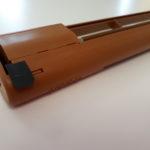 Ablakba építhető légbevezető, önszabályzó – EMF-029 (lezárható, tölgy)
